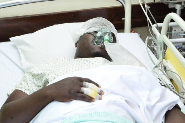 Mityana Municipality MP Francis has been released from Lubaga Hospital and later barred from taking the flight to India by Entebbe Airport Authorities (FILE PHOTO)