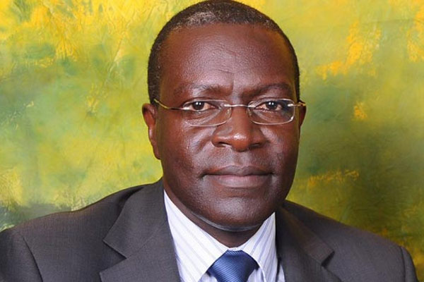 Dr Medard Bitekyerezo was in February 2017 appointed Chairman of the 6th National Drug Authority board by Minister of Health Hon. Dr. Jane-Ruth Aceng (FILE PHOTO)