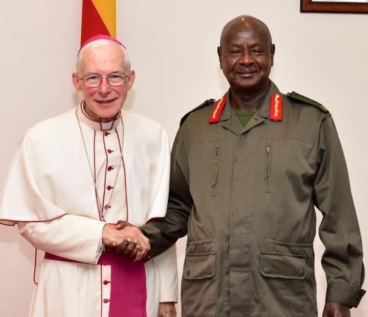 Vatican Ambassador to Uganda, Archbishop Michael August Blume