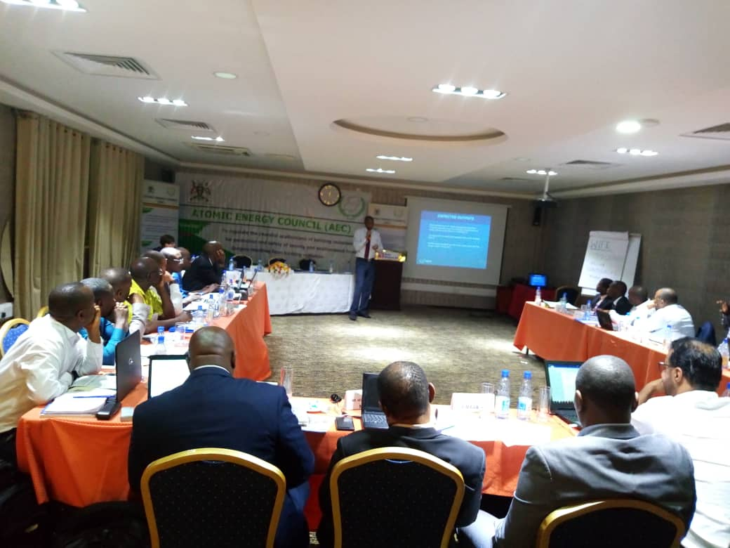 Experts and stakeholders from International Atomic Energy Agency (IAEA) hold the Atomic Energy Conference at Hotel Africanna to discuss