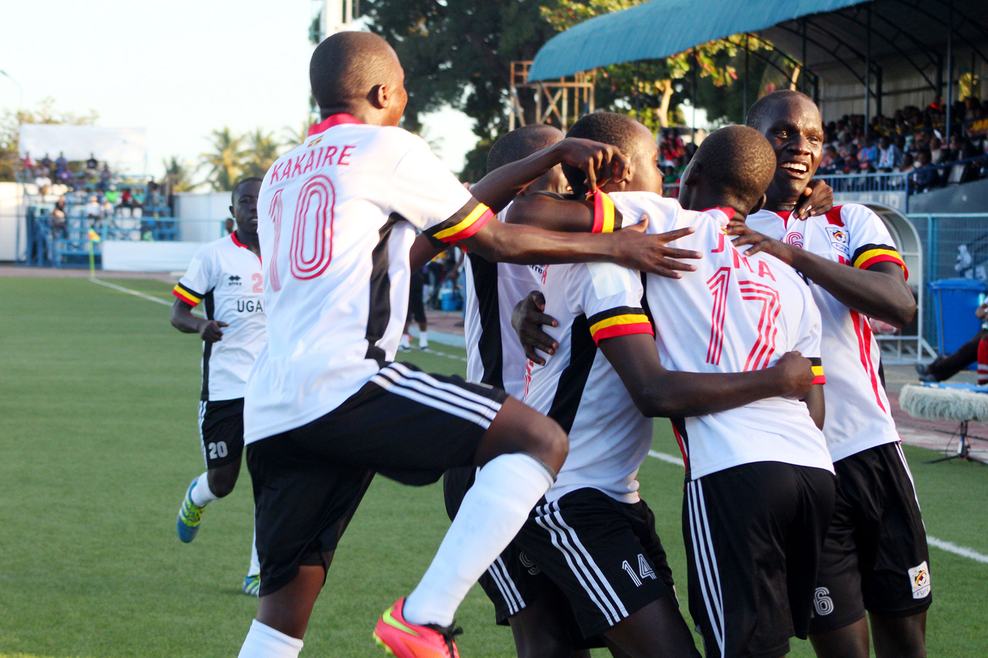 The Uganda Cubs are making thier maiden appearnace at the AFCON finals.