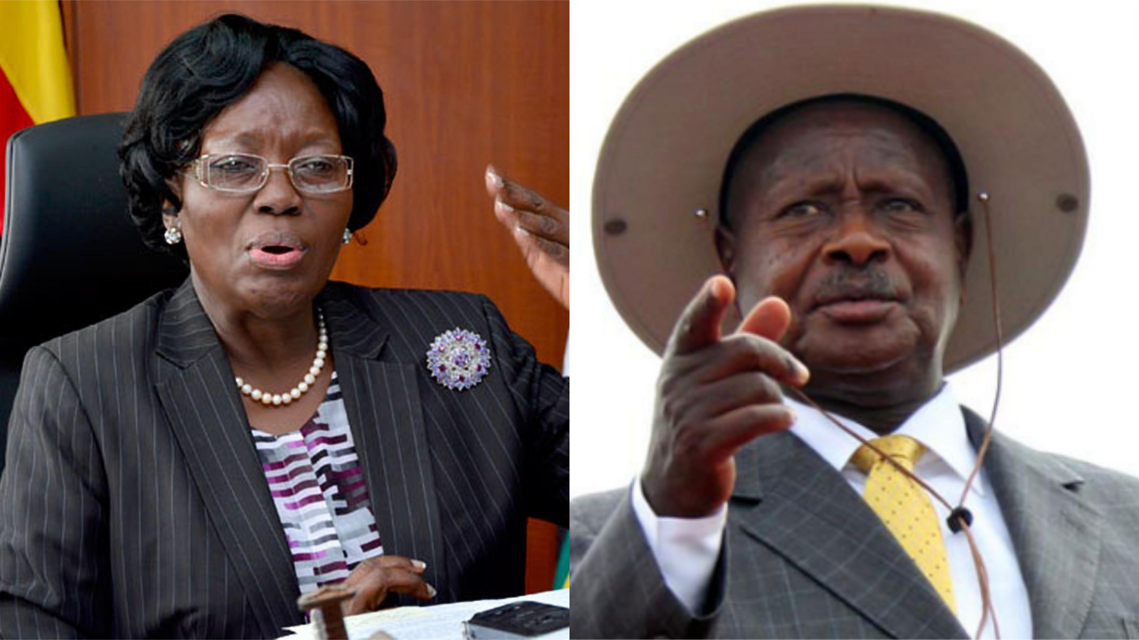 Speaker of Parliament, Rt. Hon. Rebecca Kadaga has cautioned legislators against heckling President Museveni ahead of the State of Nation address slated for Thursday. (PHOTO/File)