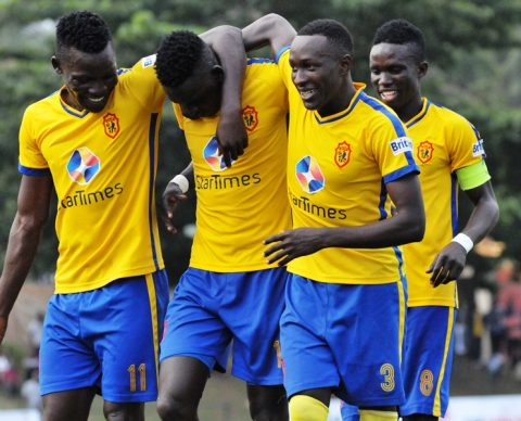 KCCA FC are three points clear at the top of the League (file photo)