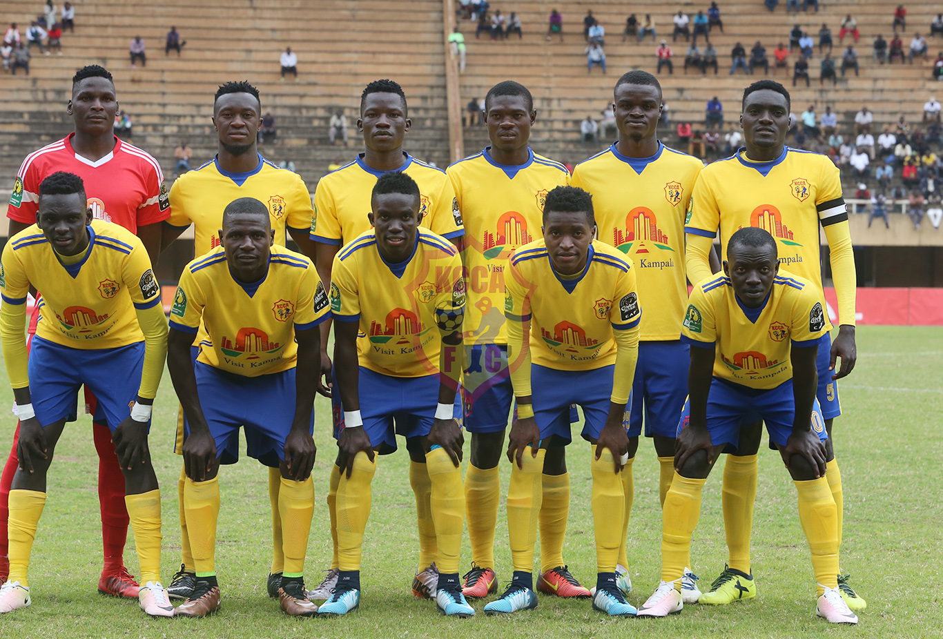 KCCA FC received a bye to get into the first round (file photo)