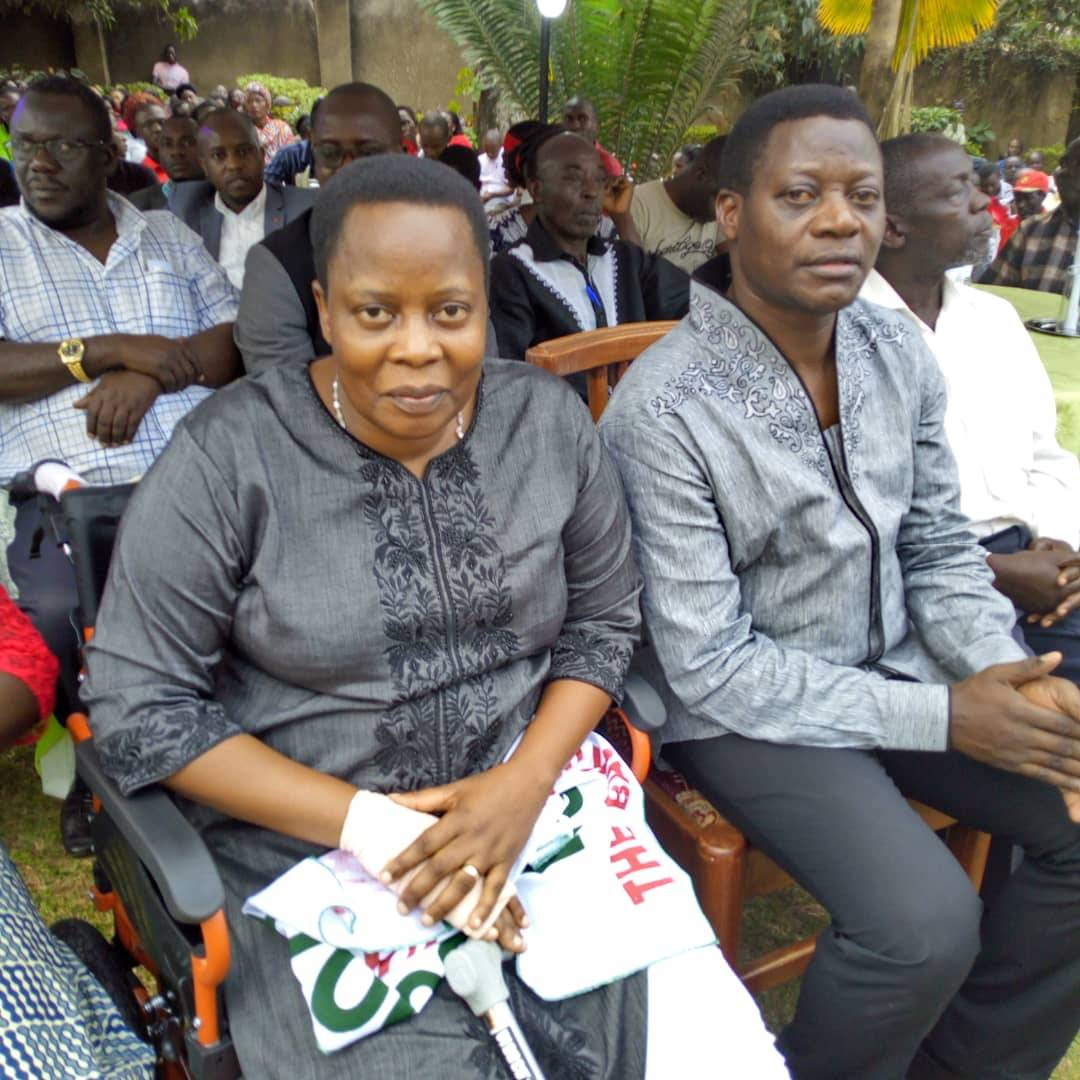 MP Nambooze holds thanksgiving prayers at her home