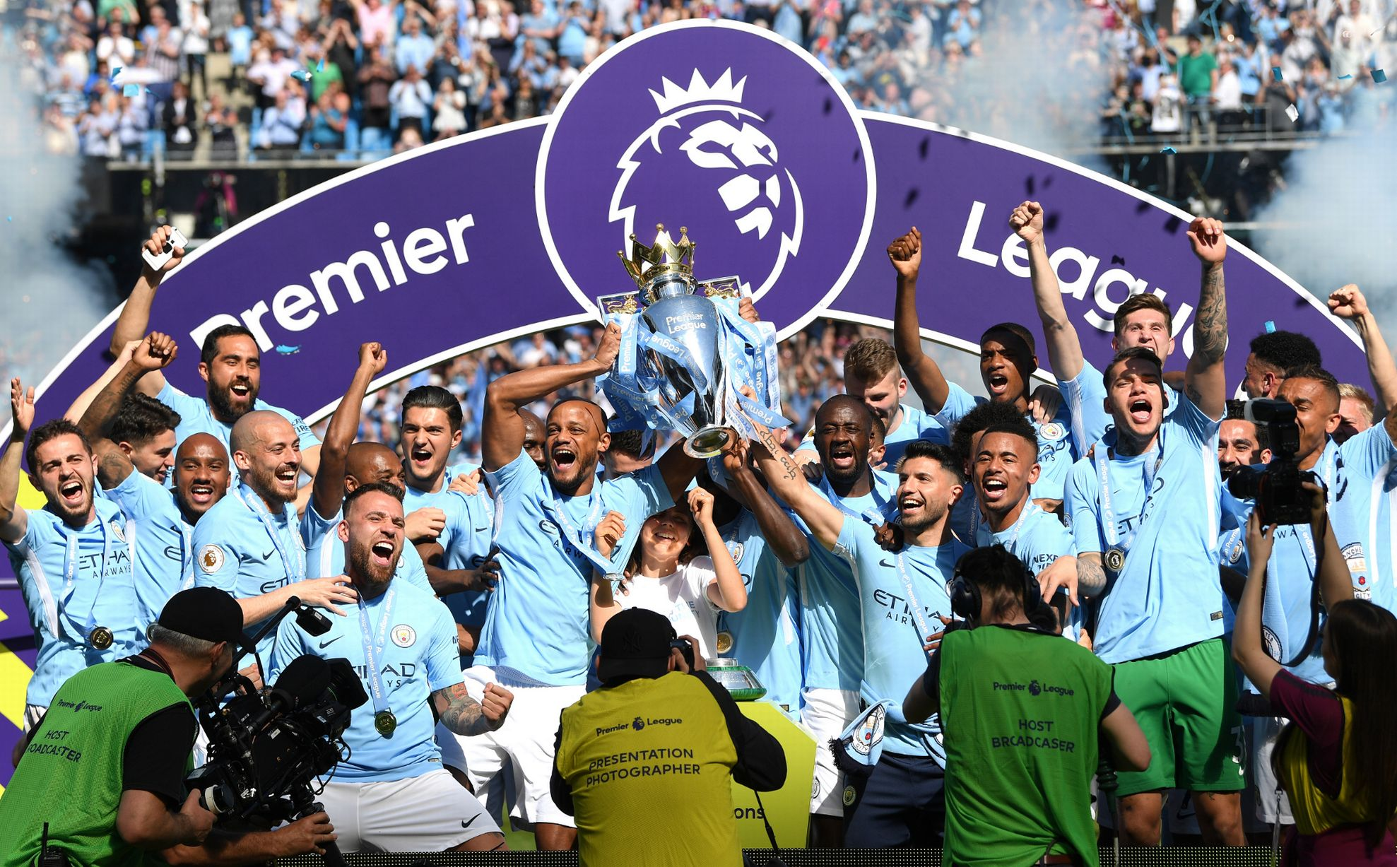 Man City won the league last season after showcasing CONTROL in most of their games (AGENCIES)