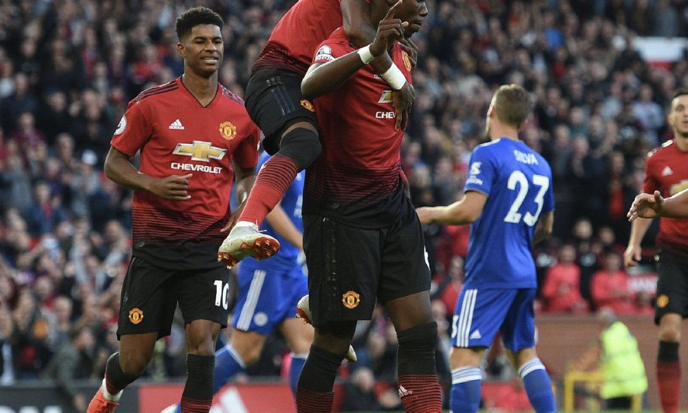 Manchester United defeated Leicester City 2-1 on the 2018/19 season opening day