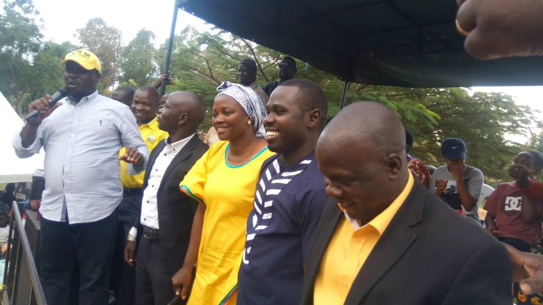 Deputy Secretary General of NRM Hon Richard Todwong
