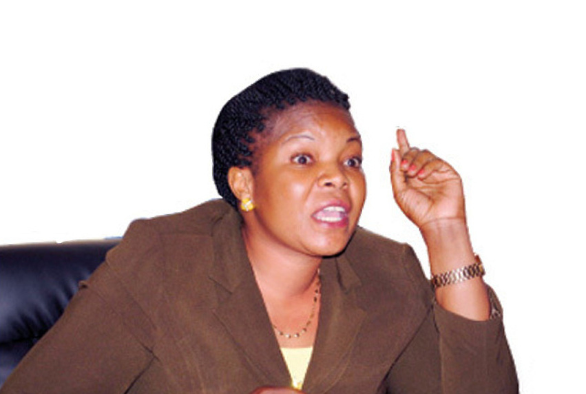 State Minister for Lands, Persis Namuganza has slammed the Bamugemereire Commission of Inquiry into Land matters for not having the citizens' interests at heart (FILE PHOTO)