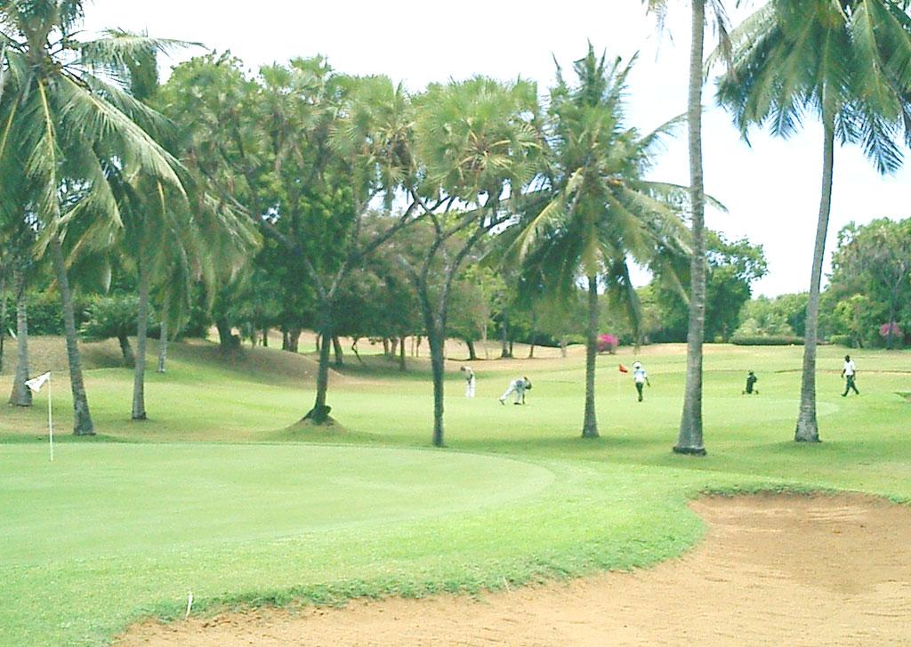 Nyali golf club in Mombasa