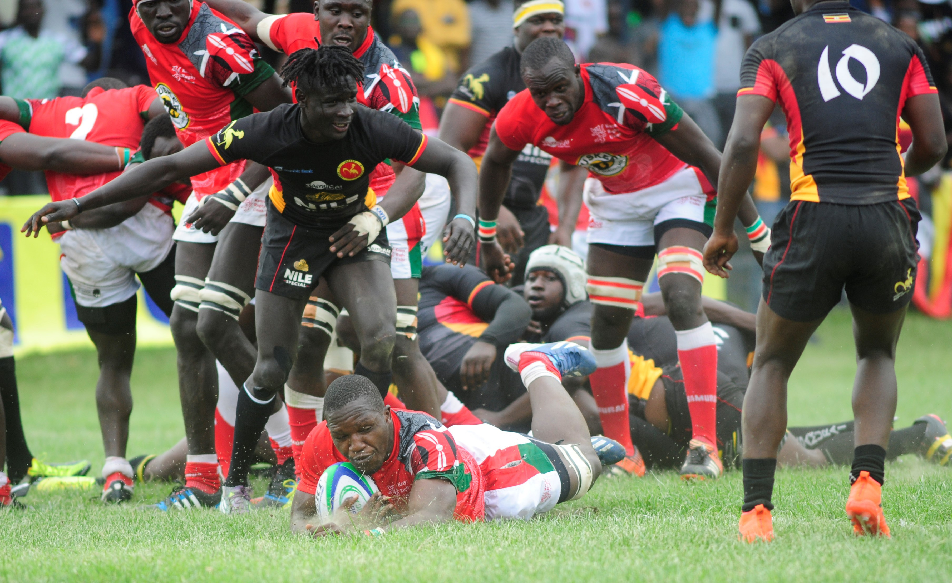 The Uganda Rugby Cranes lost to Kenya in their last game (File Photo)