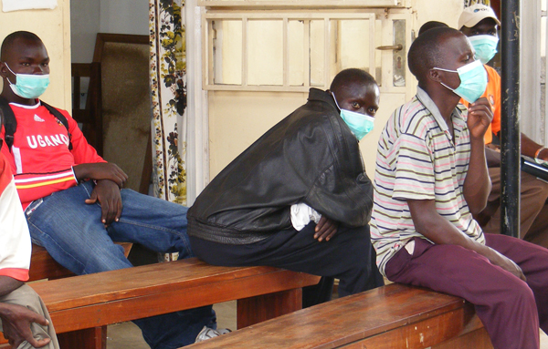 Some of the TB patients at a health facility. Annual infection has hit over 80,000 in Uganda (FILE PHOTO)