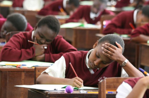 Students in an Examination recently (FILE PHOTO)