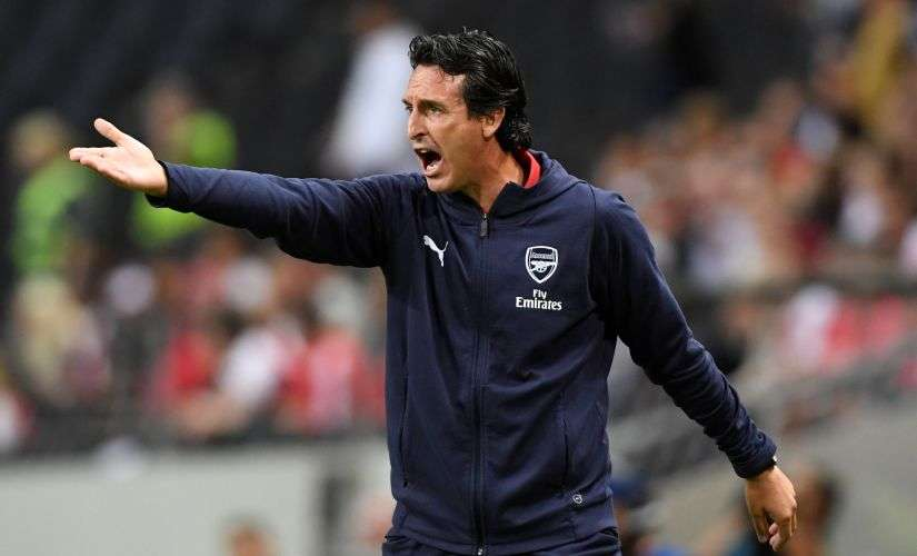 Arsenal's Unai Emery is one of the new managers in the Premier League