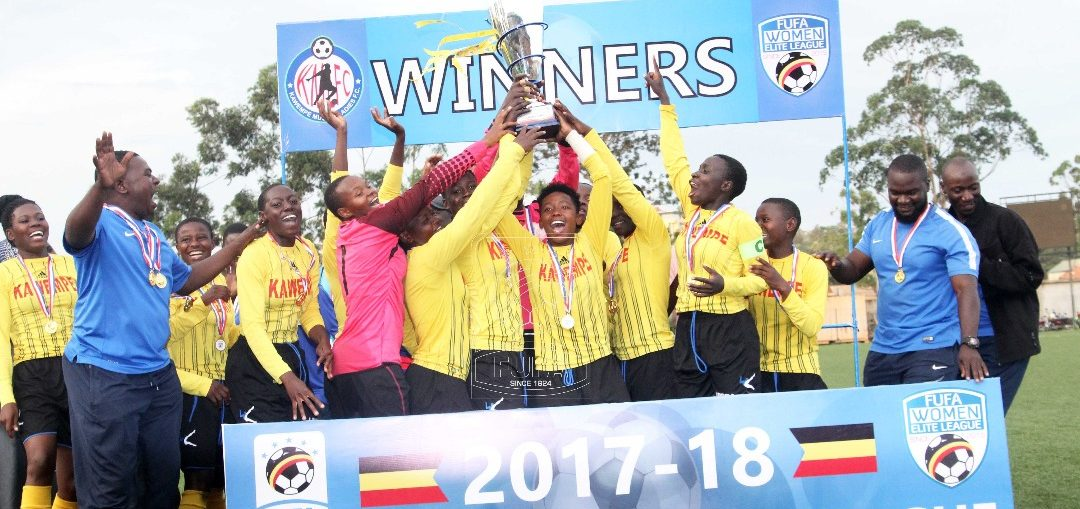 Kawempe Moslem are the defending champions of the FUFA Women Elite League (Photo by FUFA Media)