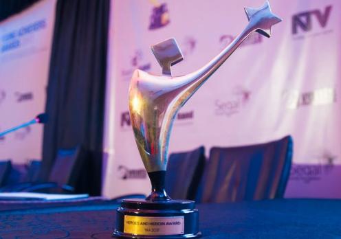 2018 Reach A Hand Uganda (RAHU)'s Young Achievers' awards.