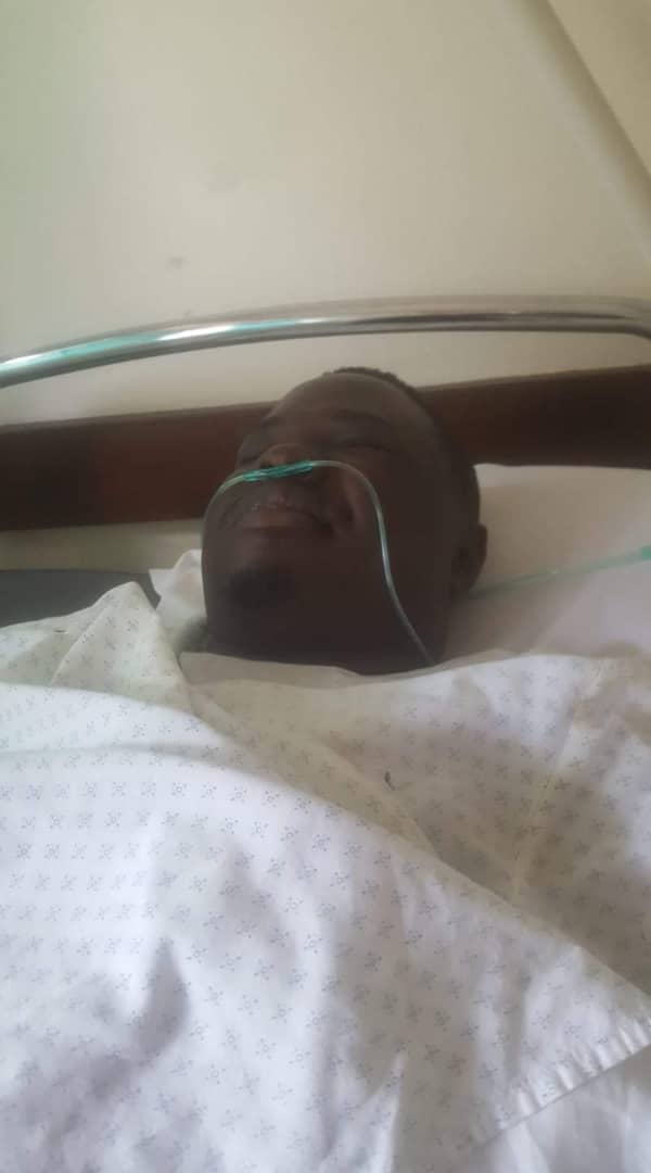 Mityana Municipality MP Francis Zaake is currently in a critical condition at Lubaga Hospital (FILE PHOTO)