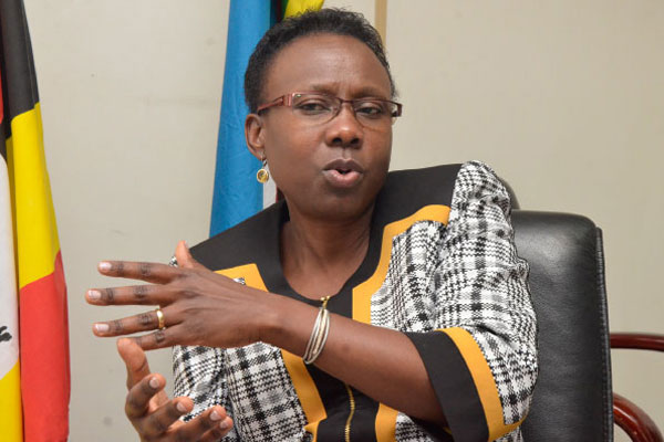 Health Minister Dr Jane Ruth Aceng has decried the Antibiotics resistance in Uganda citing that it costs the country millios (FILE PHOTO)