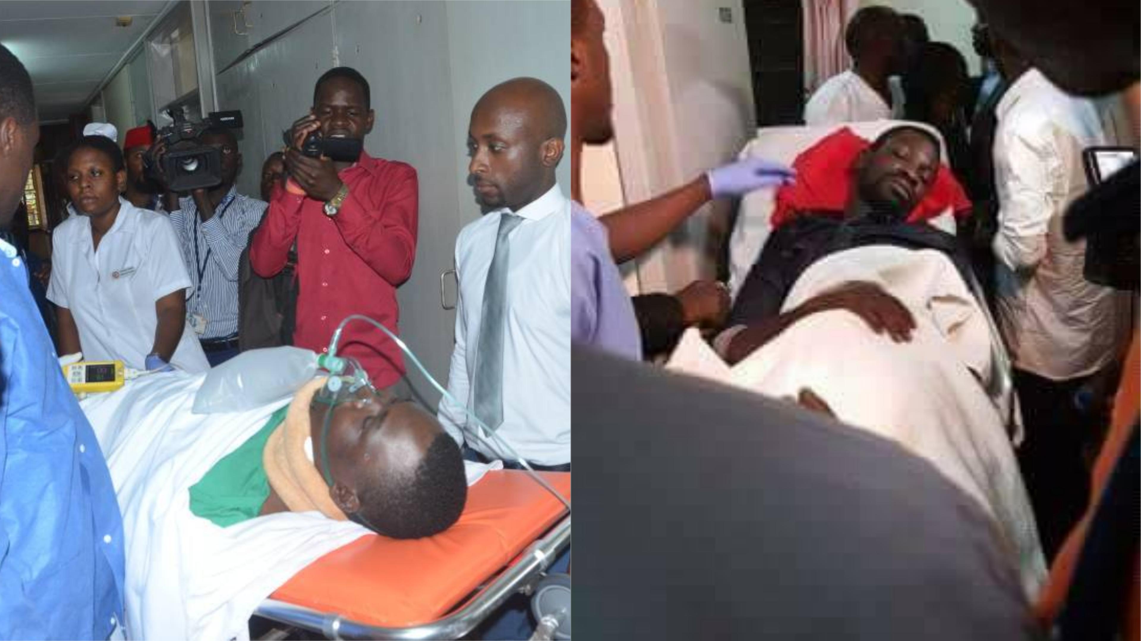Following medical examinations, Kyadondo East MP Robert Kyagulanyi and Mityana Municipality MP Zaake Francis have been cleared to fly for medical treatment (FILE PHOTO)