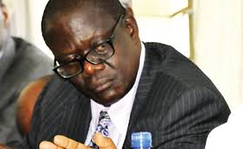 Former Works Minister, Abraham Byandala has been acquited of all charged levied against him in the botched Mukono - Katosi road project in a ruling issues by Anti Corruption Court Judge Lawrence Gidudu (FILE PHOTO)