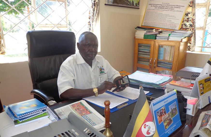The Amuria District chief administrative officer (CAO) Mr Pius Epaju