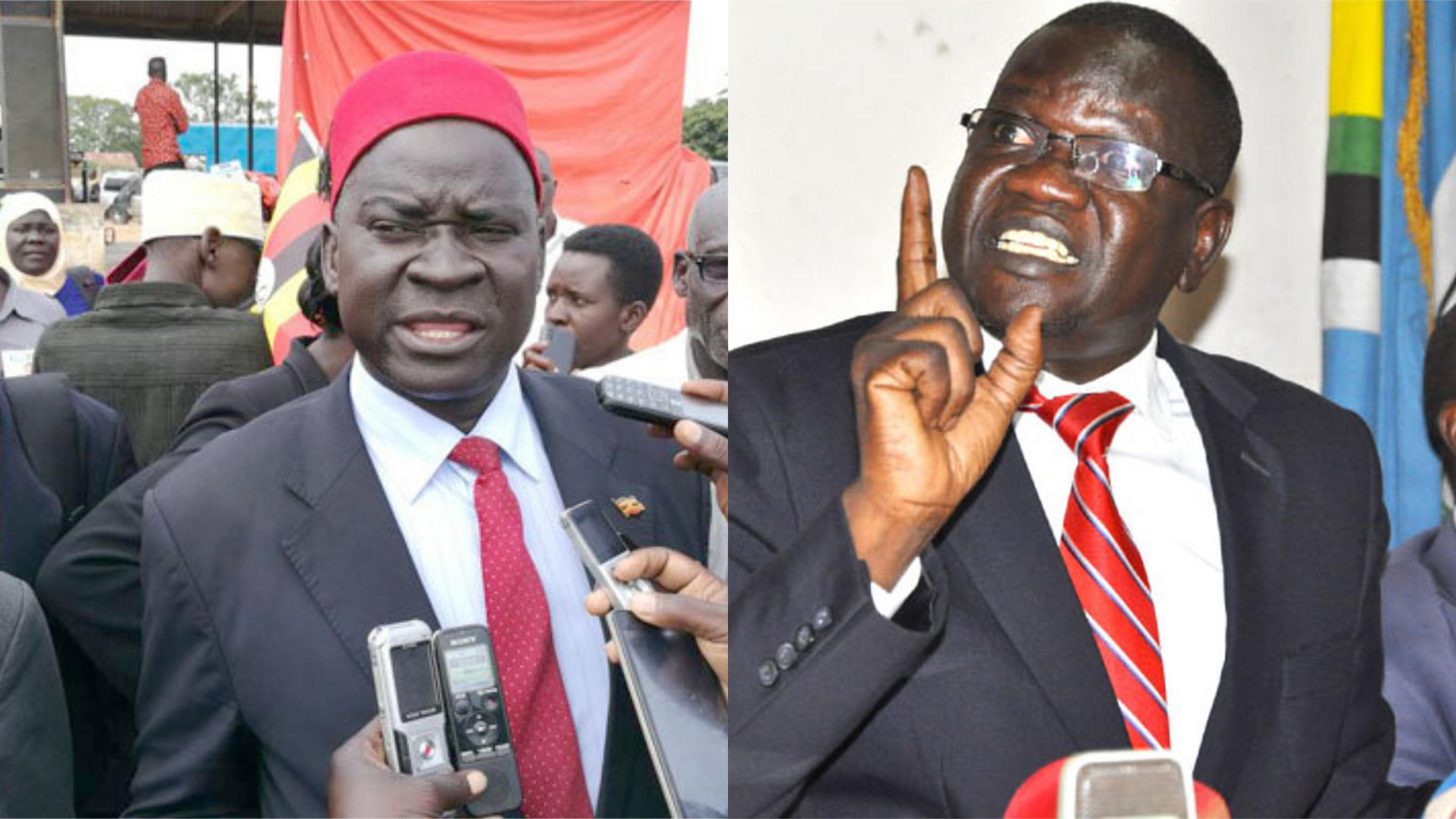 FDC Party president Patrick Amuriat acknowledged the Party conceded defeat and congratulated Opposition-leaning Kassiano Wadri on the victory (FILE PHOTO)