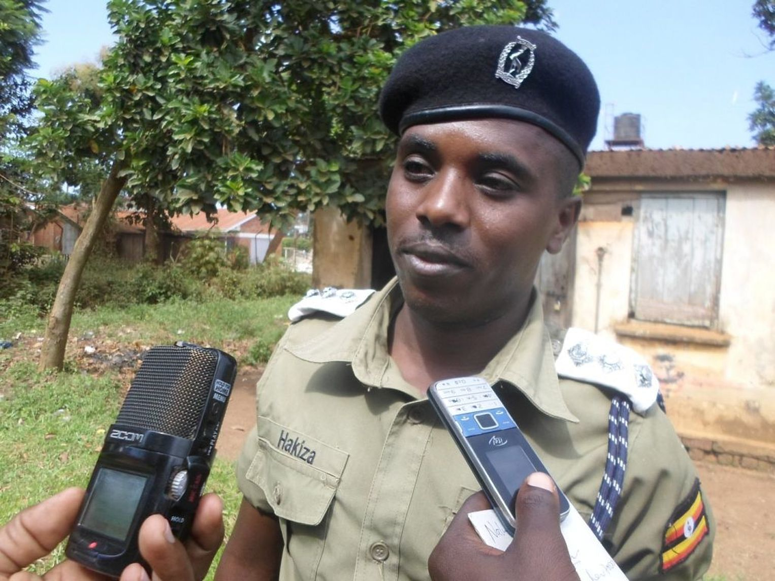 Albertine Regional Police spokesman Julius Hakiza is to lead the investigation on the death threats issued to one -