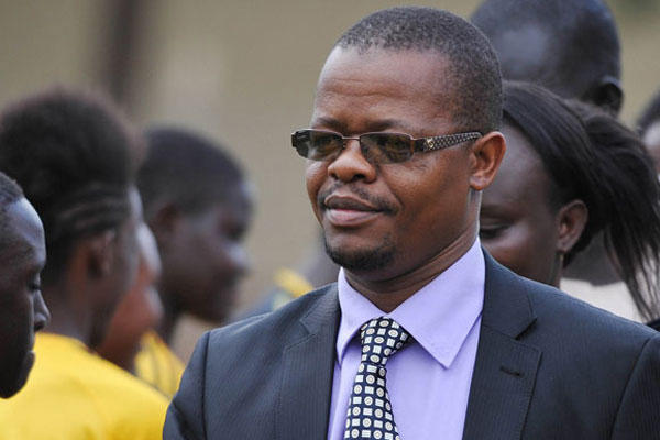 FUFA President Eng. Moses Magogo is optimistic the Uganda Cubs can win next year's AFCON title (file photo)