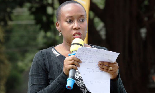 MTN Uganda Senior Manager Corporate Affairs, Ms Justina Ntabgoba-Kayemba declined to comment on the matter (FILE PHOTO)