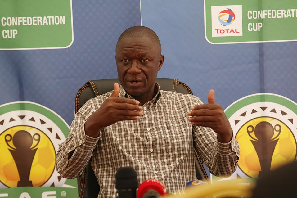 KCCA FC head coach, Mike Mutebi is confident his side can overturn the 3-0 deficit (file photo)