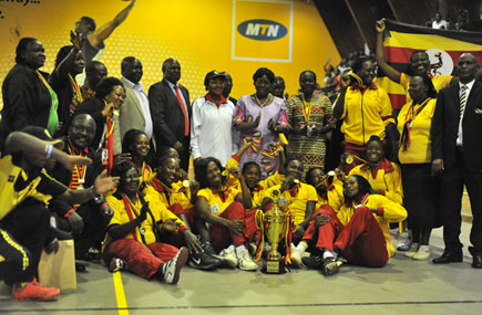 The She Cranes are the defending champions of the competition. (PHOTO/File)