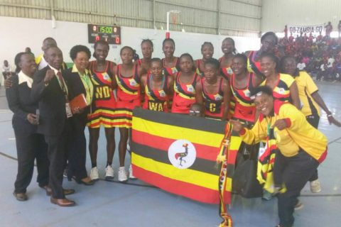 The She Cranes are preparing for the Netball World Cup next year (file photo)