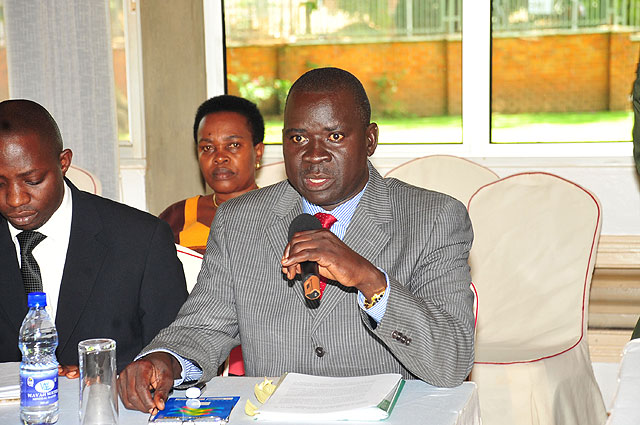 Arua Municiplaity MP- Elect, Kassiano Wadri has been gazetted by the Electoral Commission as Member of Parliament (FILE PHOTO)