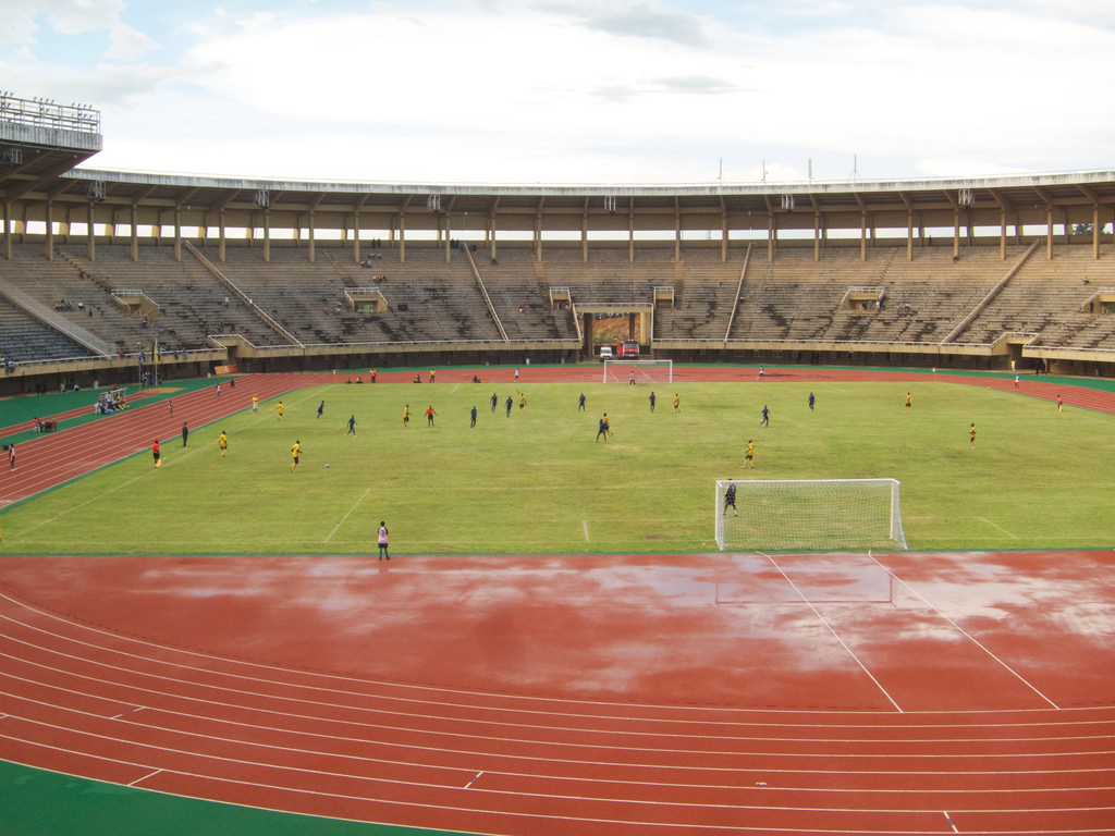 Police FC used the Mandela National Stadium as their home ground last season (file photo)