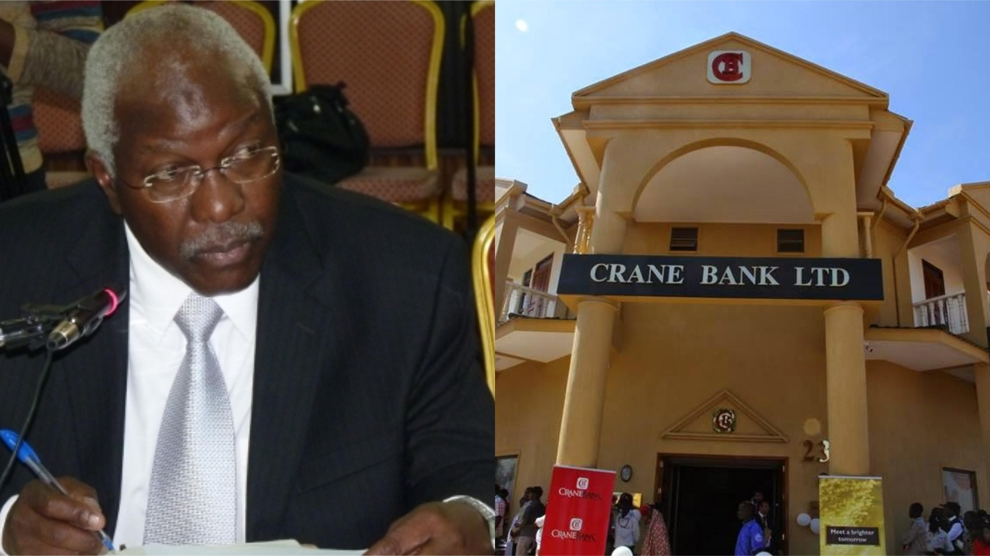 A report sanctioned by the Auditor General (John Muwanga) has faulted Uganda's bank regulator, Bank Of Uganda over the takeover and shutdown of Crane bank and other 6 financial institutions (FILE PHOTO)
