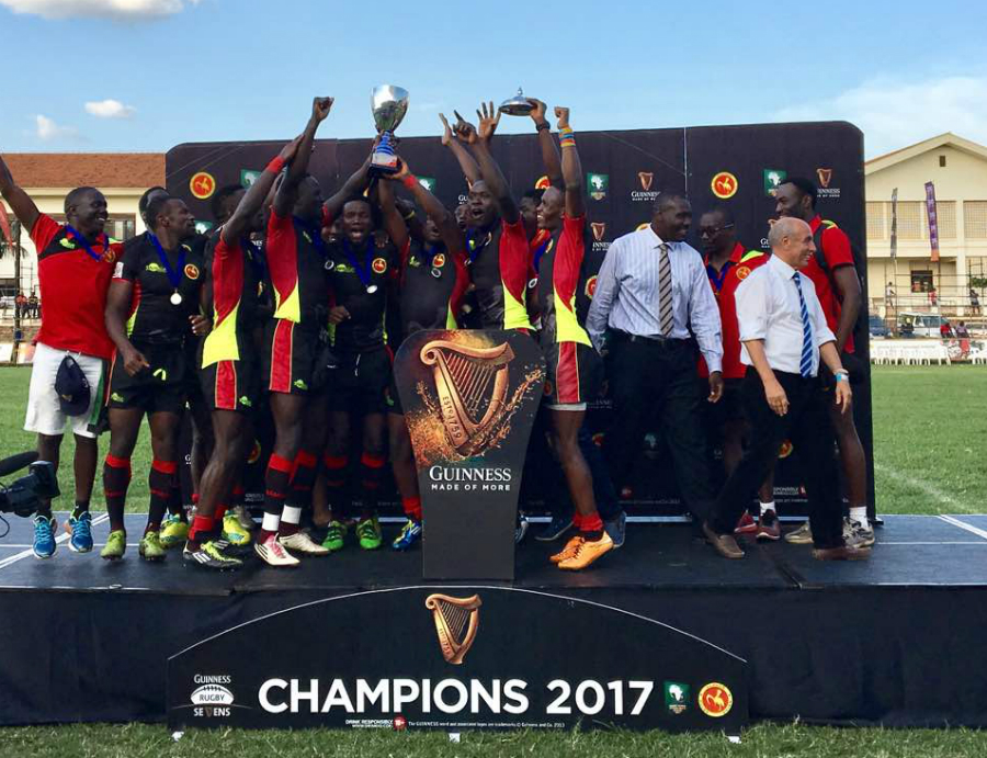 Uganda have won two sevens titles so far (file photo)