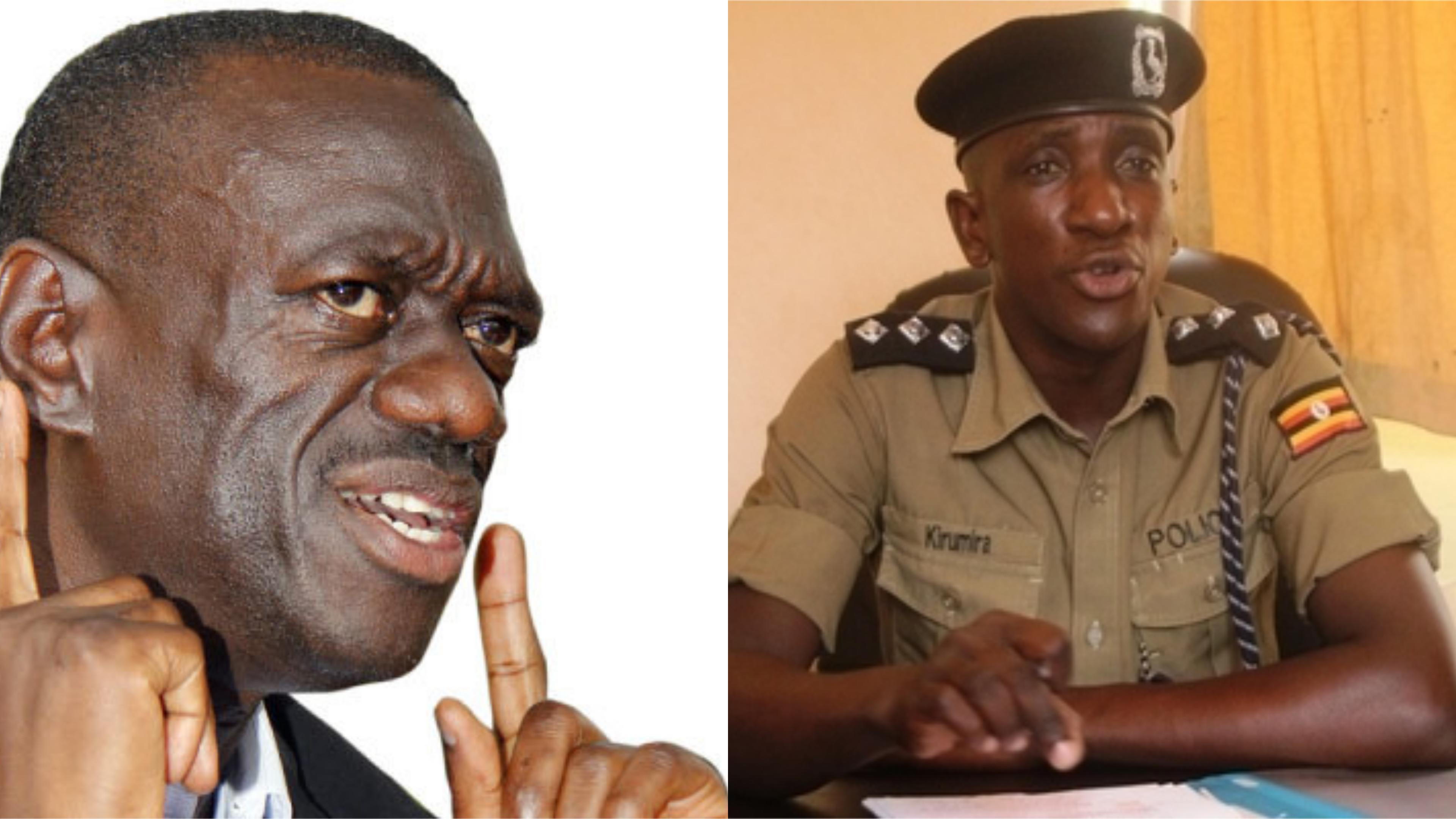 Opposition leader Kizza Besigye