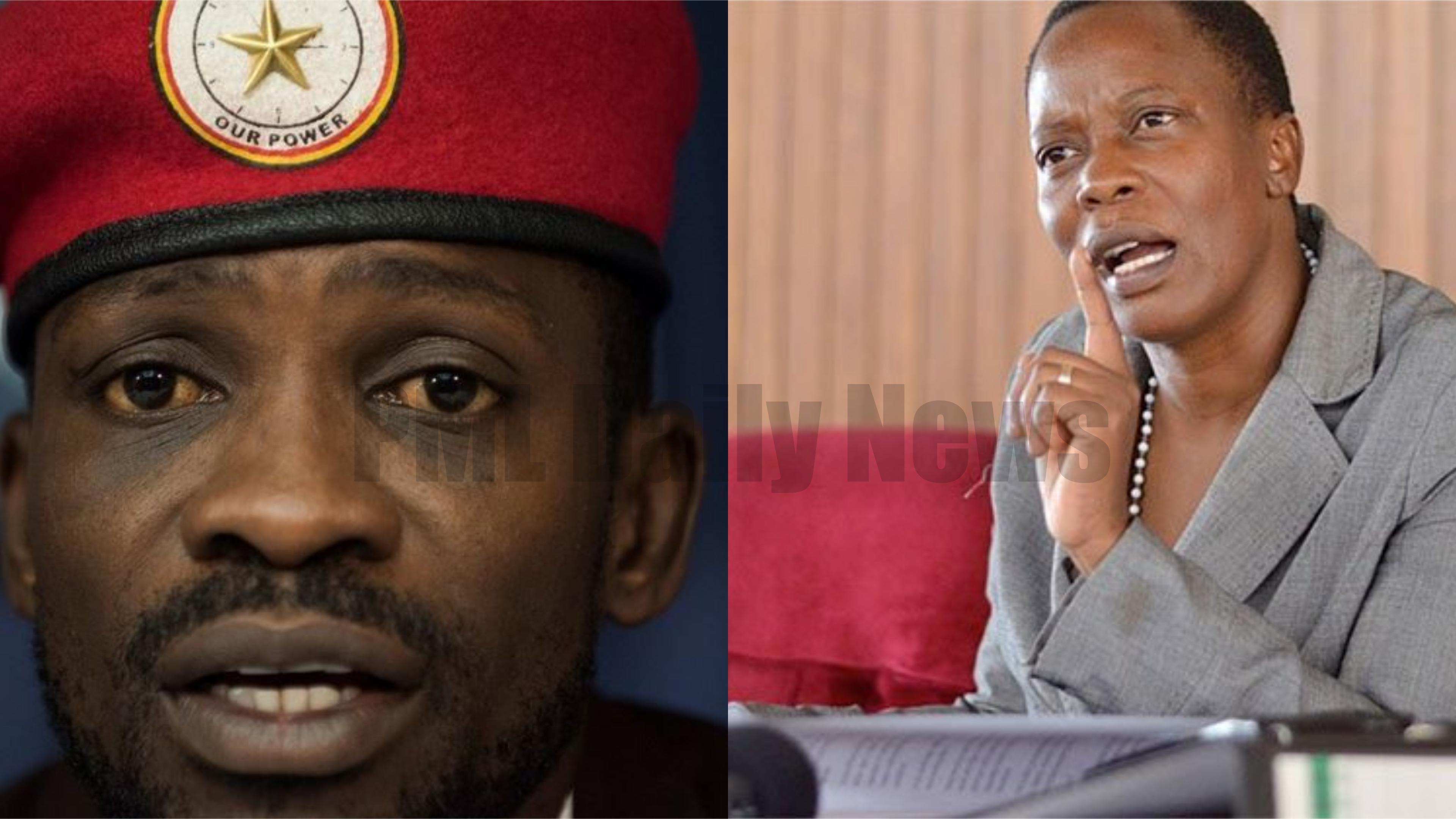 The vocal Mukono Municipality MP Betty Nambooze has cautioned fellow legislator, Robert Kyagulanyi alias Bobi Wine, of the tough times ahead (FILE PHOTO)