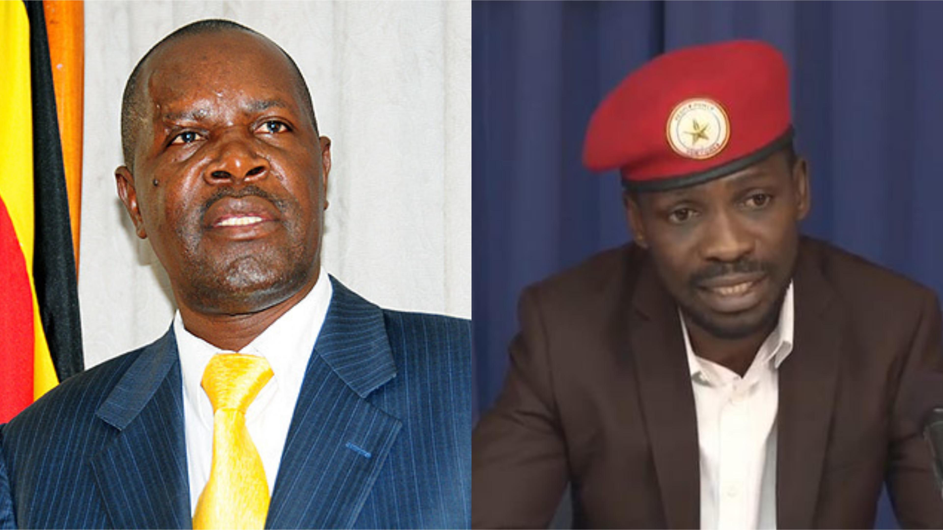 Uganda Media Centre ED, Mr, Ofwono Opondo has slammed Kyadondo East MP Robert Kyagulanyi, alias Bobi Wine, labelling the People Power enthusiast, a Passing cloud (FILE  MONTAGE)