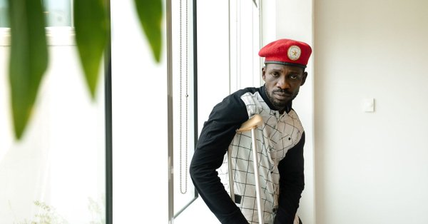 Kyadondo East MP Robert Kyagulanyi alias Bobi Wine has revealed that he is set to return Monday September 17, citing fear for arrest (FILE PHOTO)