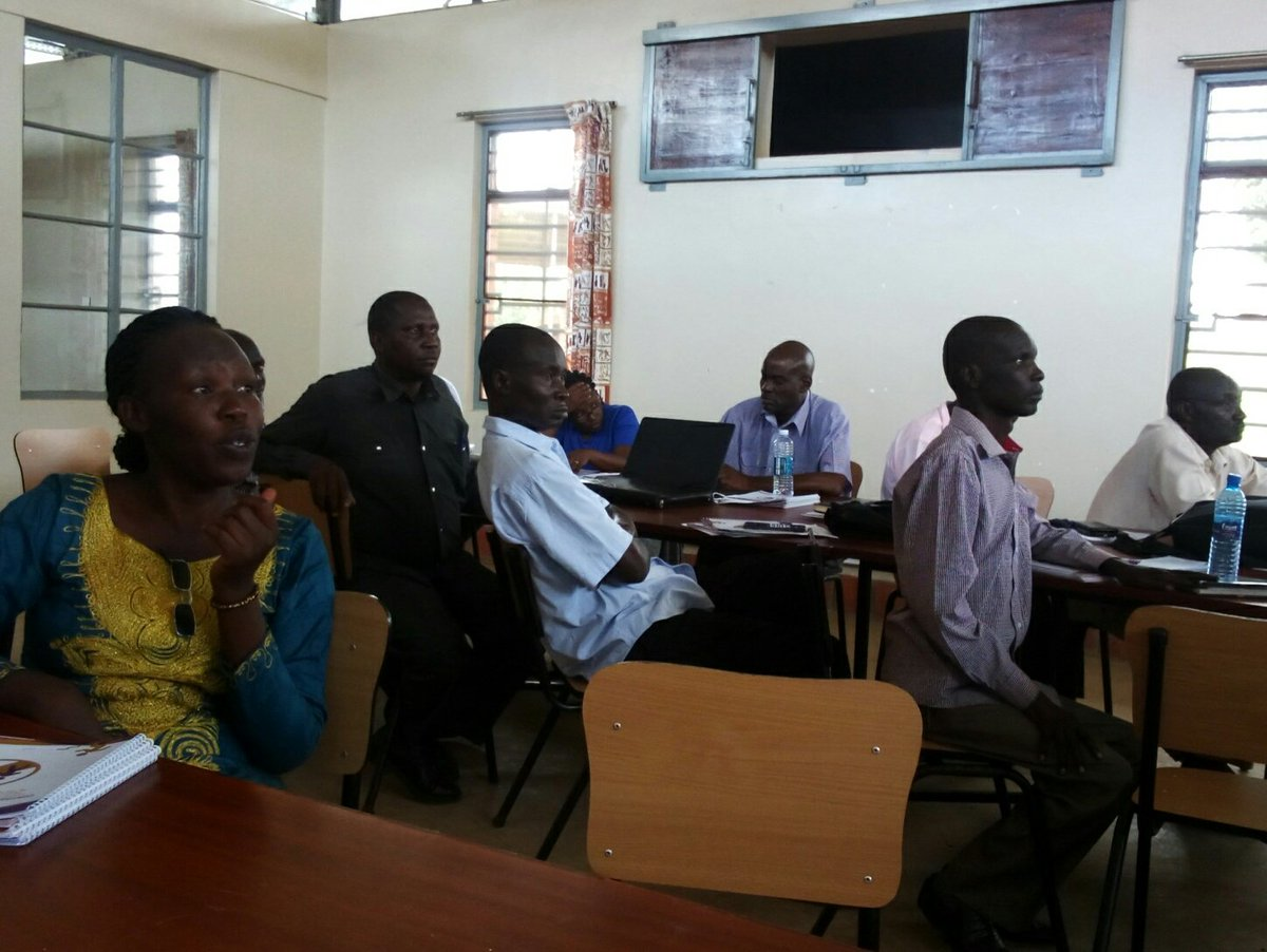 NTC Kaliro lecturers attending a workshop by Enabel on continuous school practice, continuous professional development and support supervision (FILE PHOTO)