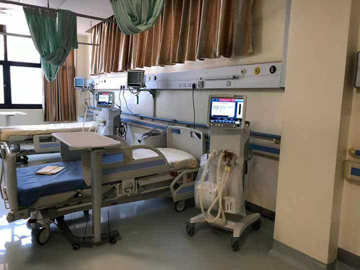 Some of the state-of-art equipment in a section of the new Neo-Natal and Maternity Hospital (FILE PHOTO)