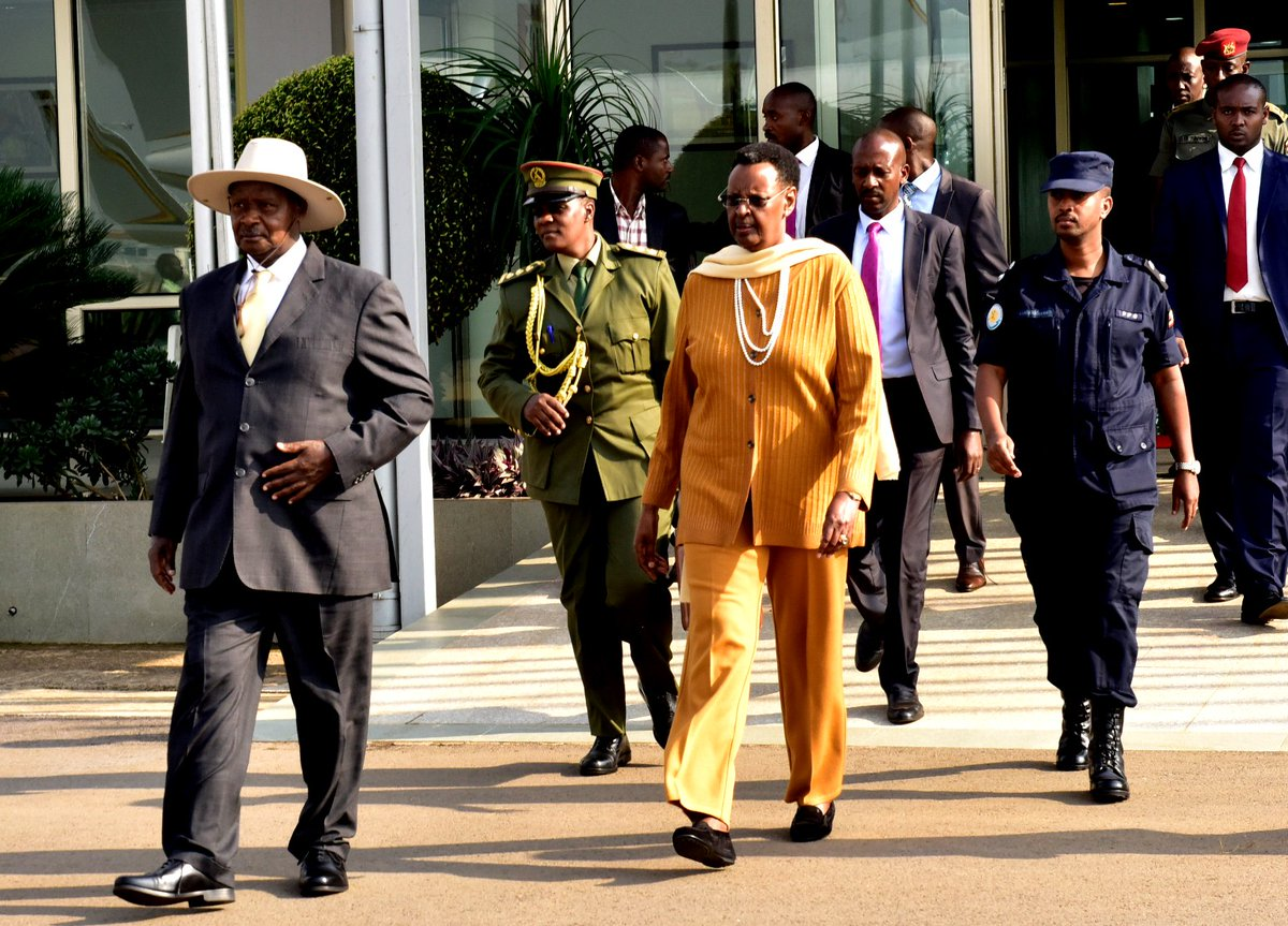 President Museveni and the First Lady, Janet Museveni leave for Beijing, where we shall attend the Forum on China-Africa Cooperation (FOCAC).(PPU PHOTO)