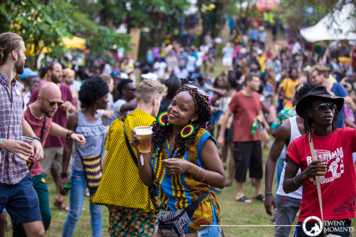 Revellers have fun at the Nyege Nyege Festival (TM PHOTO)