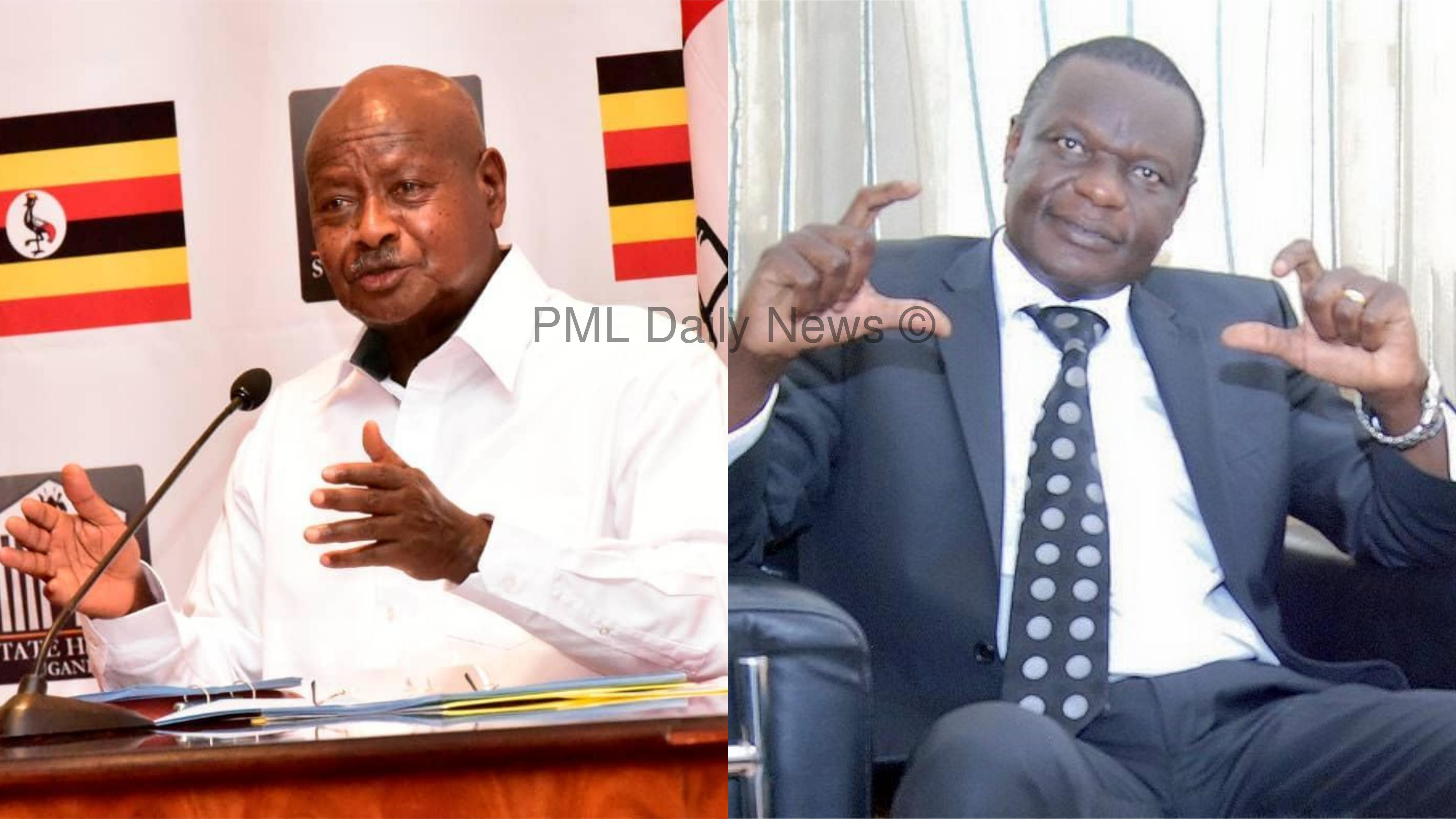 Dokolo South MO, Felix Okong has expressed dissatisfaction over President Museveni's remarks on Voice of Lango in his September 9 Nation Address (FILE PHOTO MONTAGE)