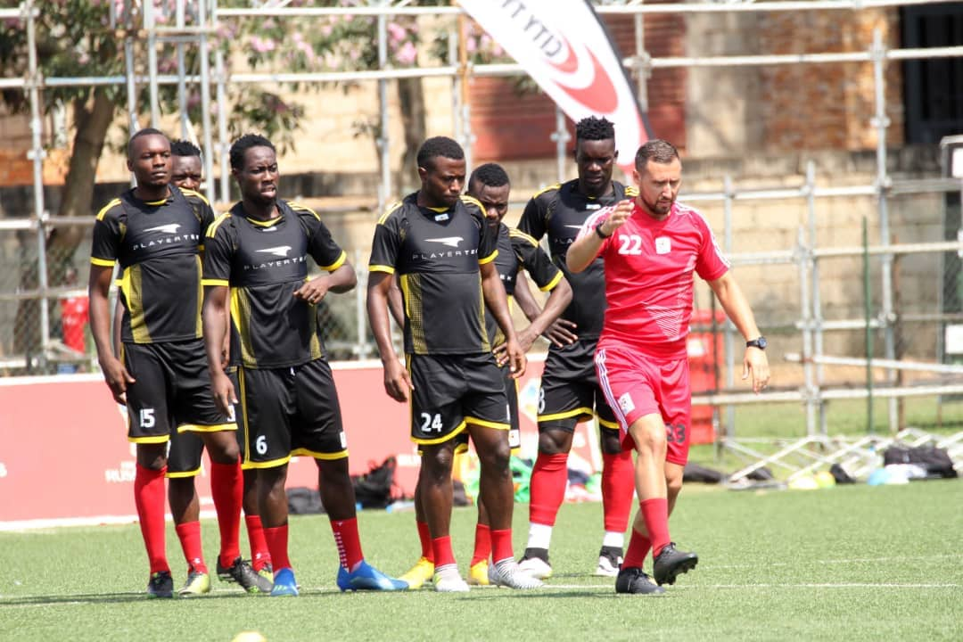 Yasser Mugerwa (24) is one of the players that have been dropped by Sebastian Desabre (photo by FUFA media)