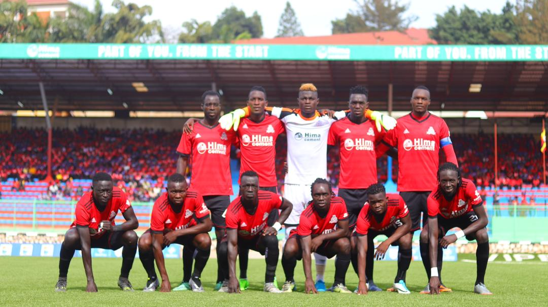 The Vipers team that started against Ndejje on Wednesday  (Photo by Shaban Lubega)