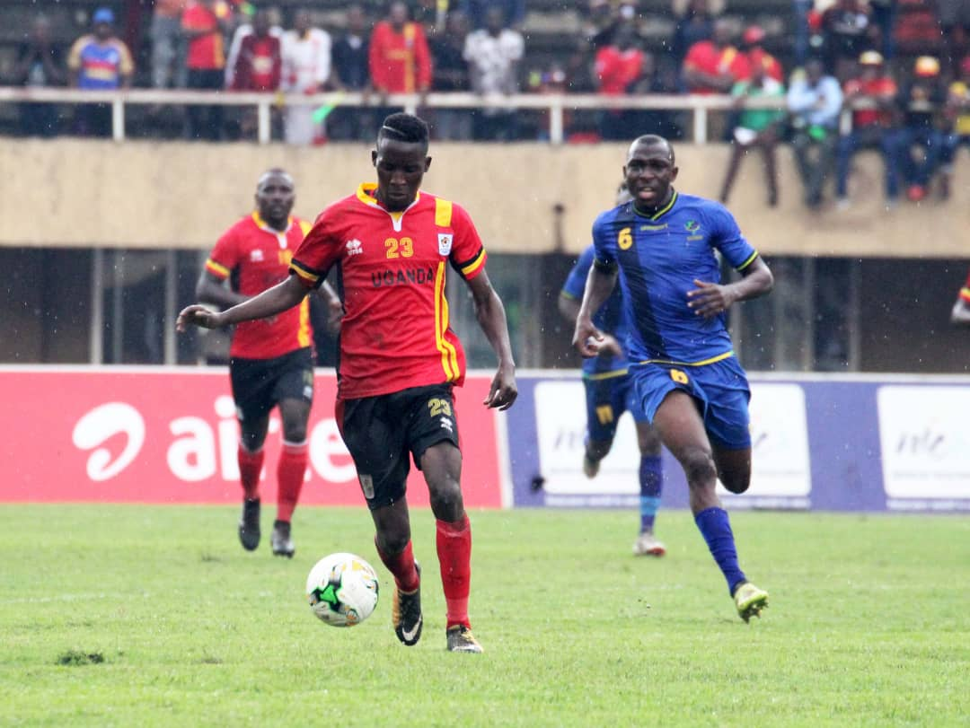 The Cranes drew 0-0 with Tanzania in the first game last year (file photo)