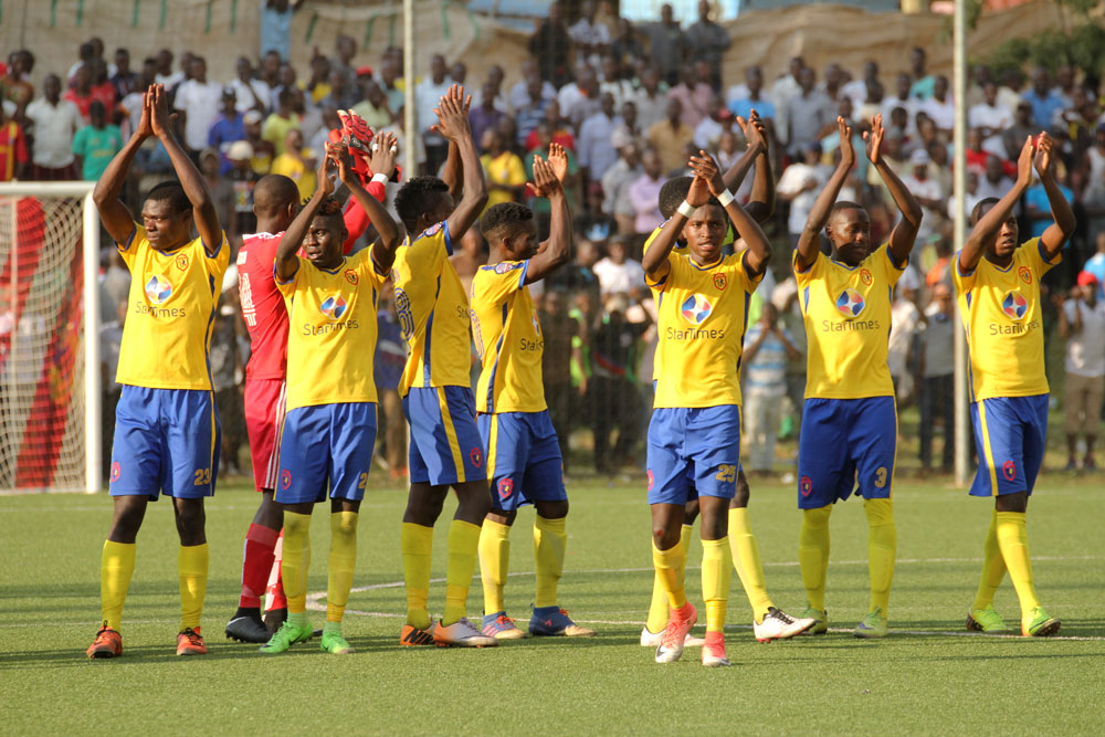 KCCA are just three points behind leaders Vipers (file photo)
