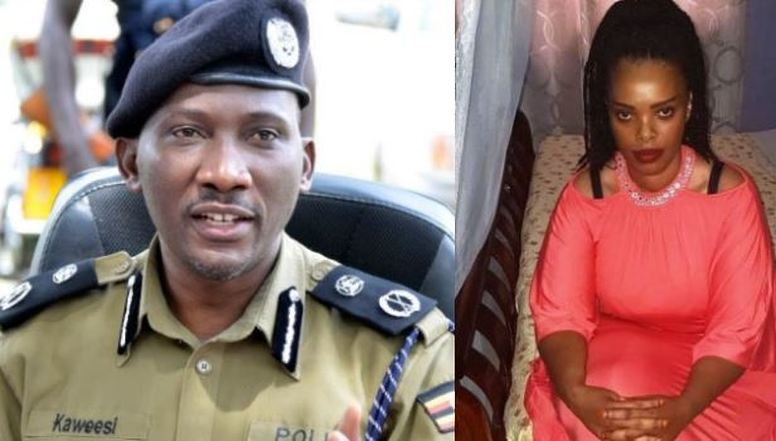 Christine Mbabazi (R), the woman alleged to have information the murder of former AIGP Andrew F Kaweesi (L), Has petitioned the High Court over her continued detention under house arrest (FILE PHOTO)